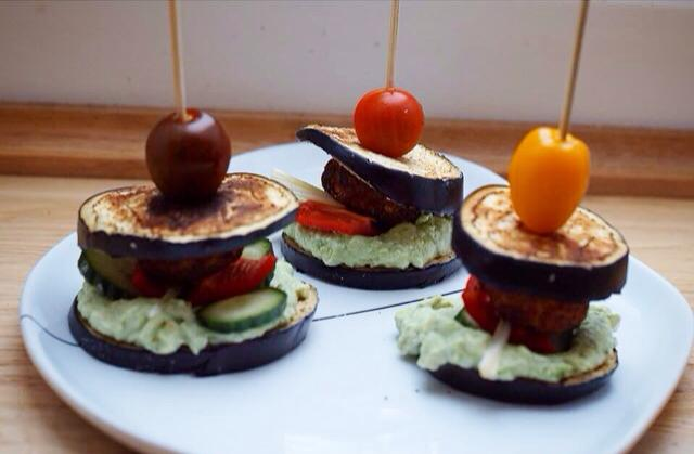 aubergineburger