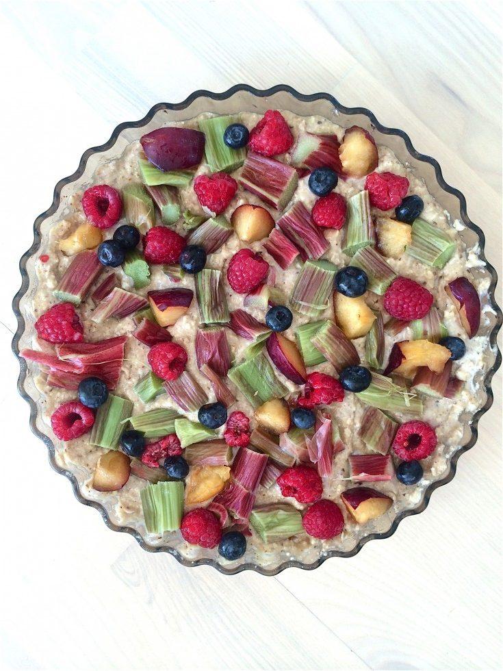 glutenfri frugttærte