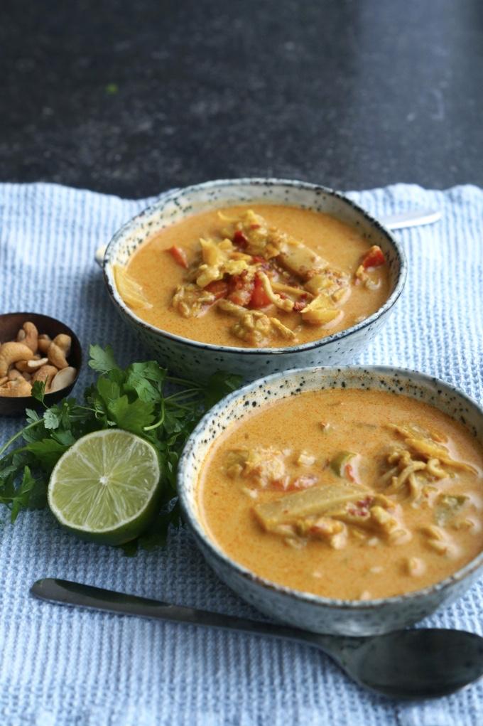 stærk thai suppe