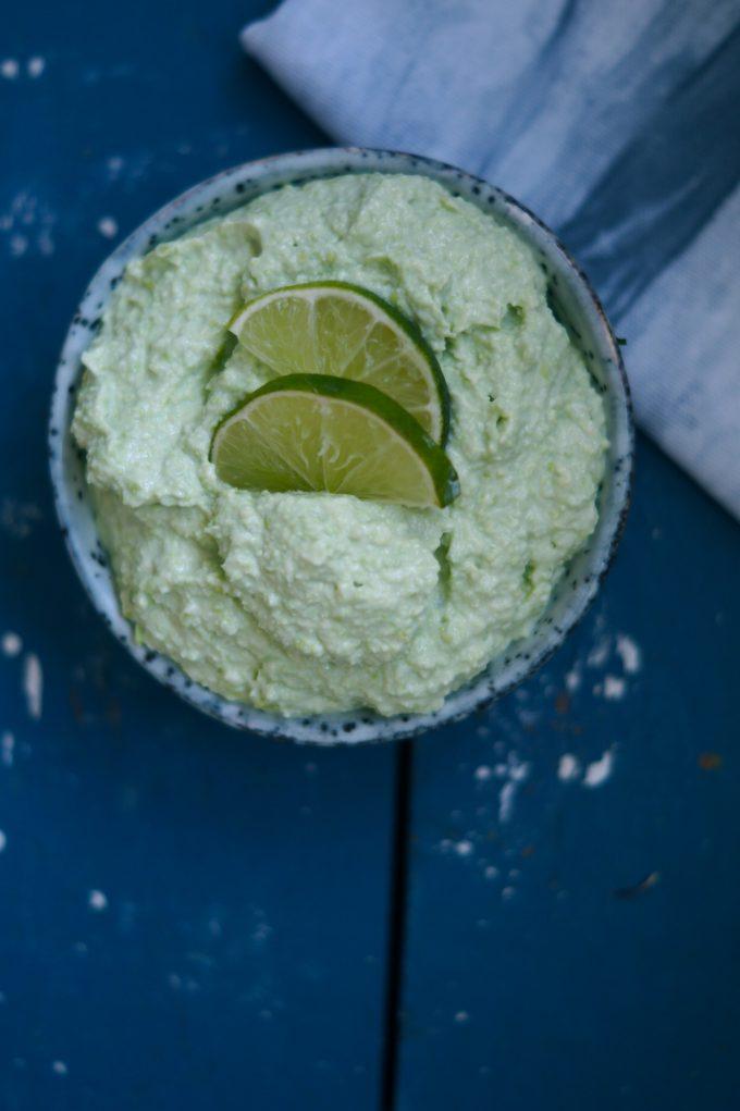 guacamole med edamame bønner