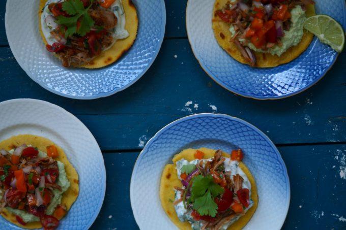 tortillas med pulled pork