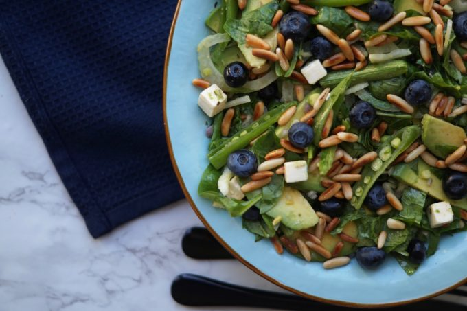 salat med fennikel