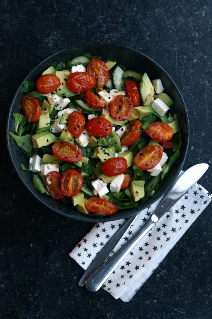sammensæt den perfekte salat