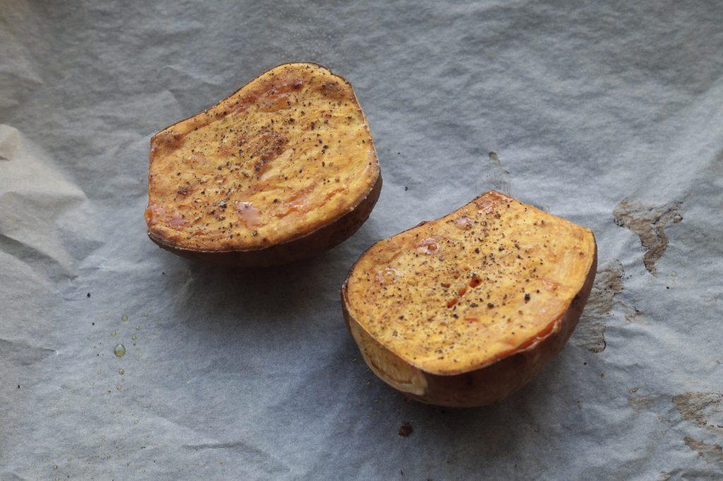 mashed sweet potatoes