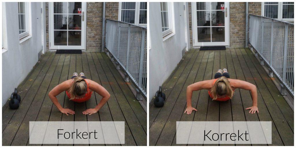 korrekt træning