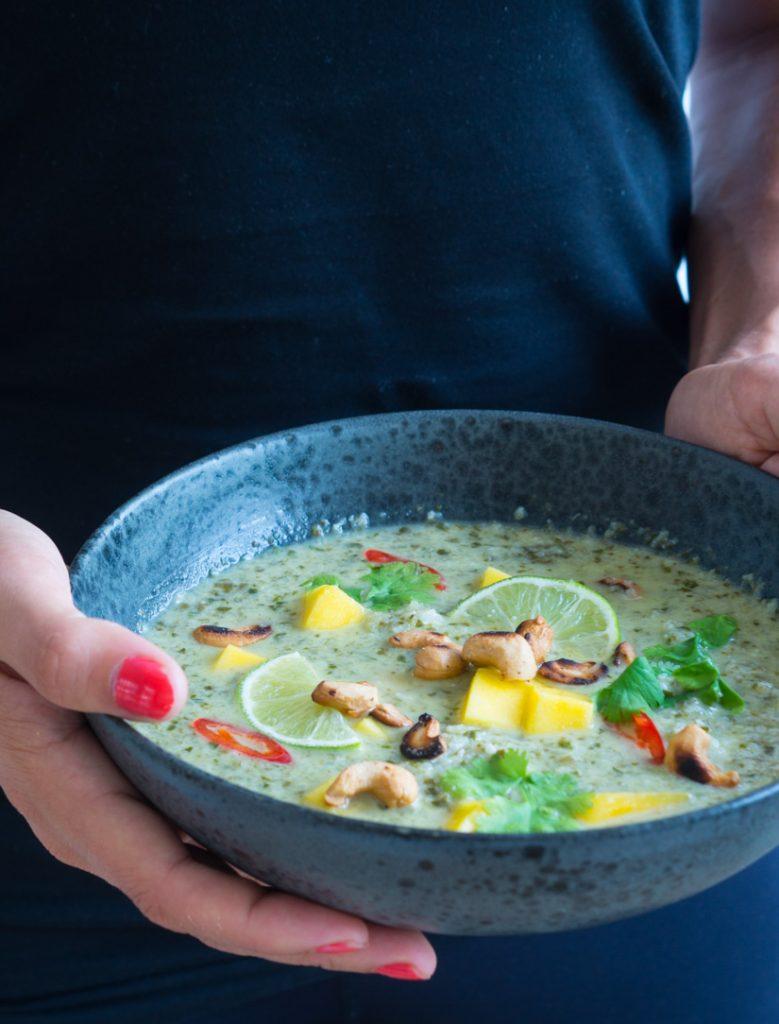 blomkåls suppe