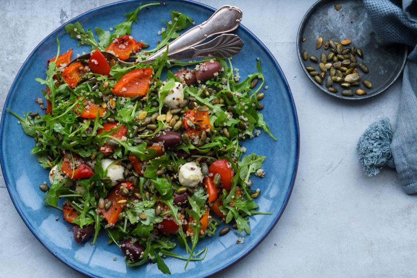salat med quinoa