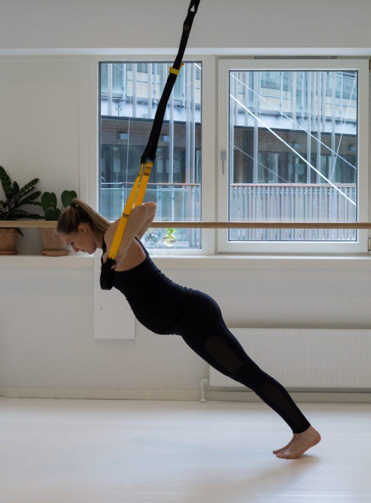 TRX træning til gravide