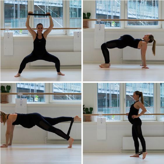træning til gravide