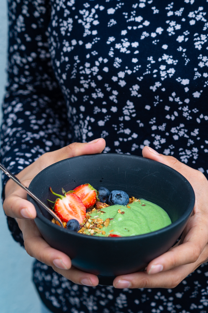 grønne smoothiebowls