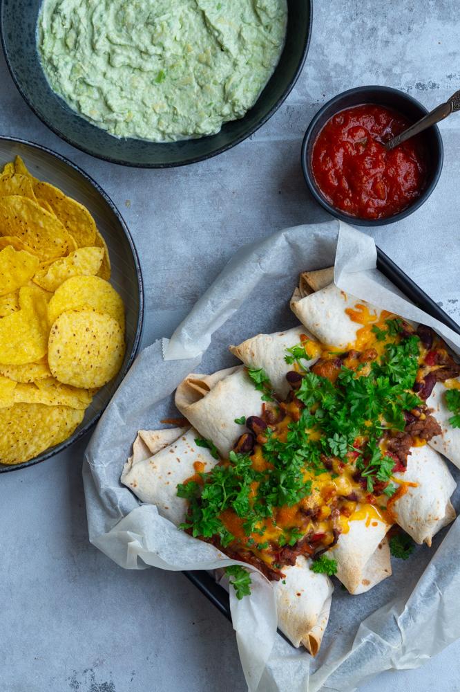 enchiladasmed oksekød