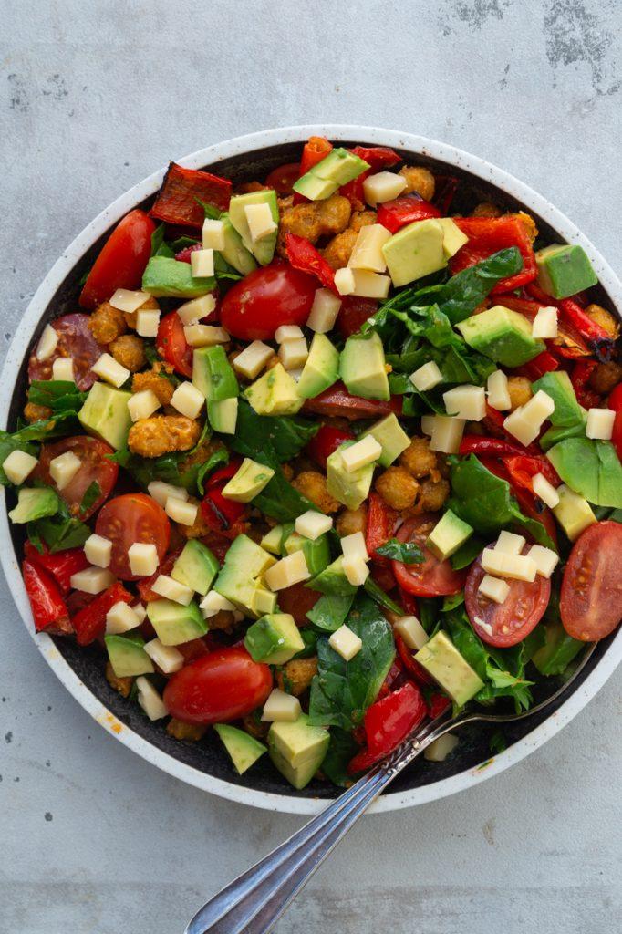 salat kikærter