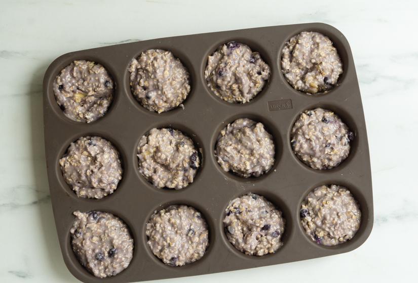 Børnevenlige blåbærmuffins