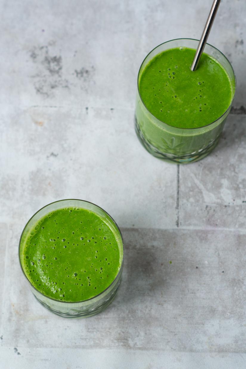 opskrift på grøn smoothie - greenie