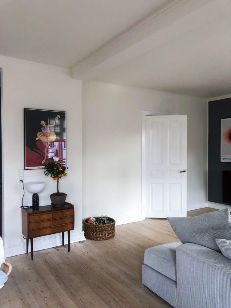 indretning til stuen