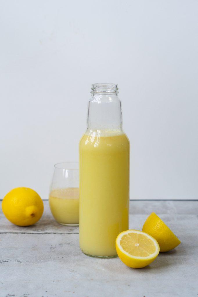 Ingefærshot med citron