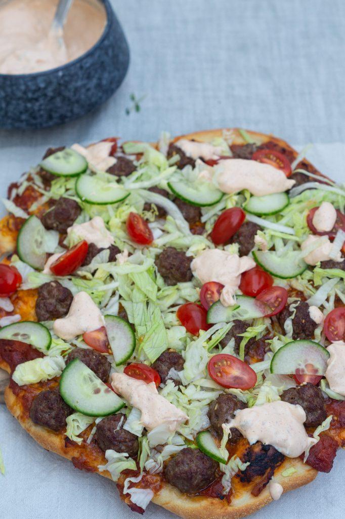 salatpizza