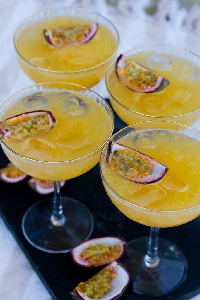 drink med passions frugt