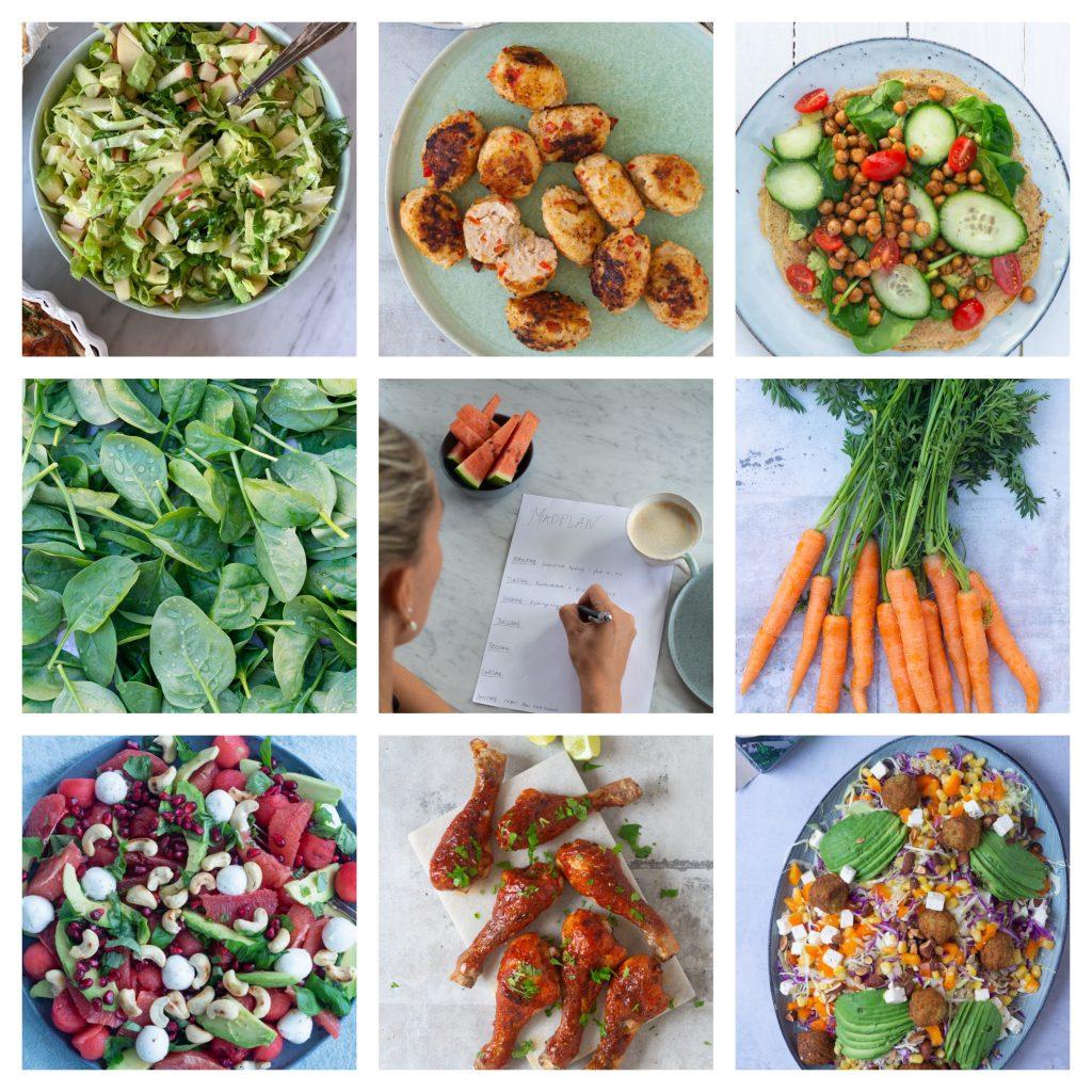 kaloriefattig madplan