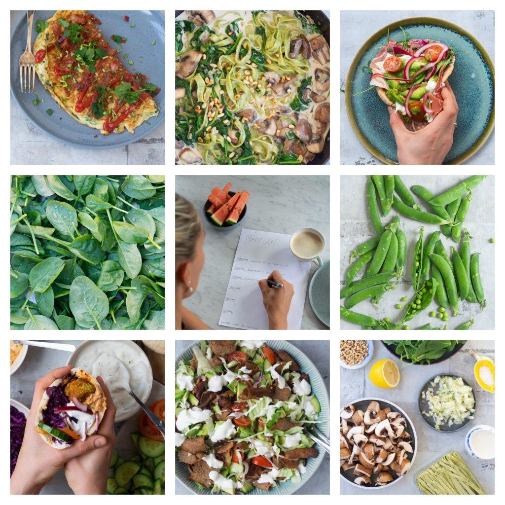 madplan med hurtig aftensmad