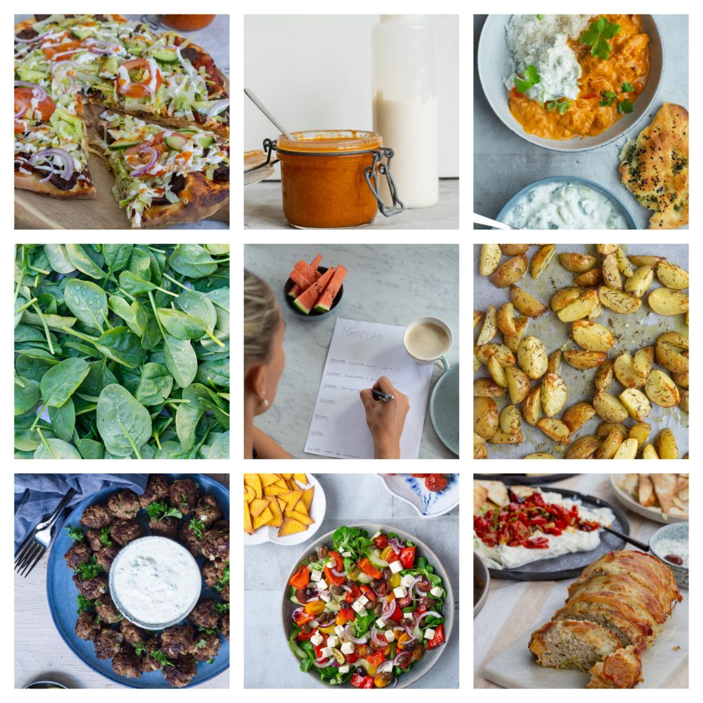 madplan fra forskellige verdenskøkkener #1